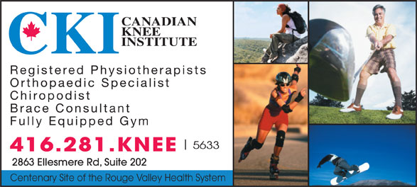 Ads Canadian Knee Institute