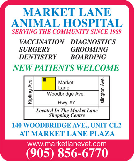 Ads Market Lane Animal Hospital