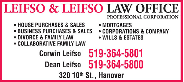 Ads Leifso &amp; Leifso Law Office