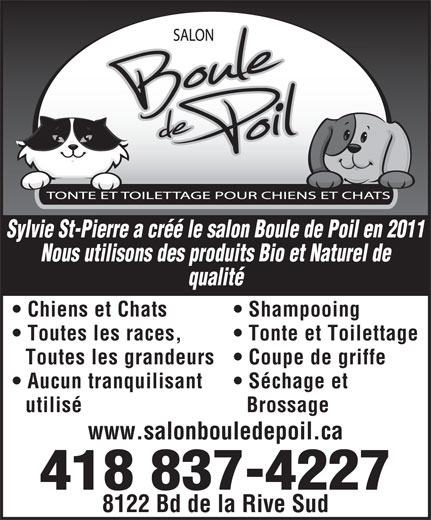 Ads Salon Boule De Poil