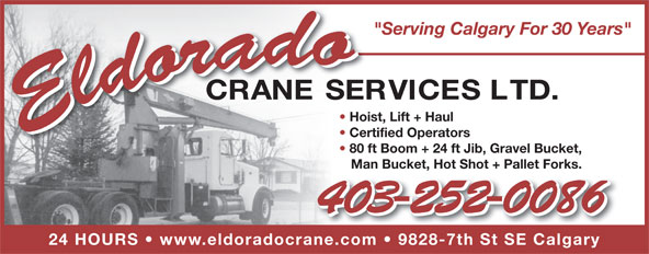 Ads Eldorado Crane Services Ltd