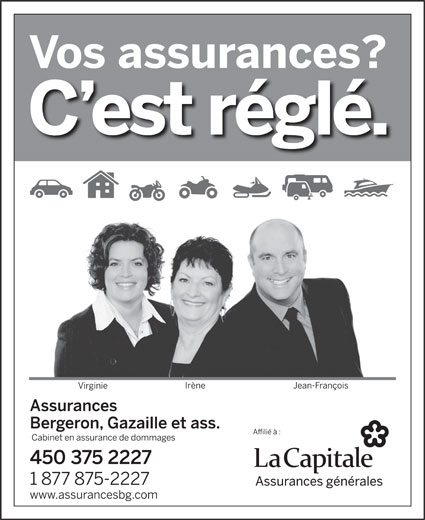 Ads Assurances Bergeron Gazaille & Ass