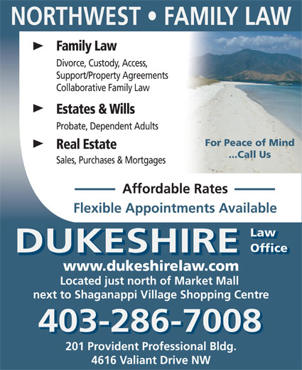Ads Dukeshire Law Office