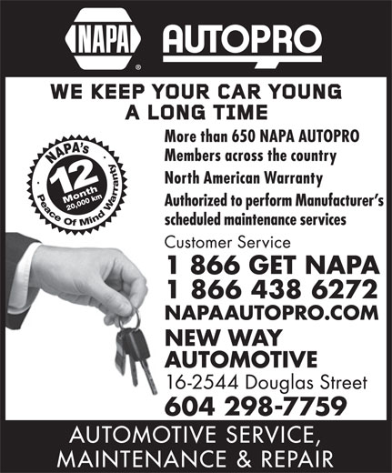 Ads Napa Auto Parts