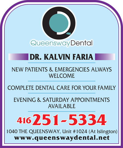 Ads Queensway Dental