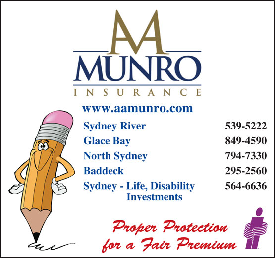 Ads A A Munro Insurance Brokers Inc