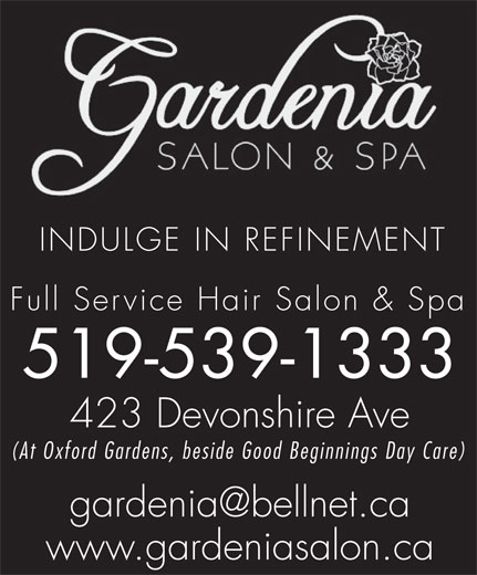 Ads Gardenia Salon & Spa
