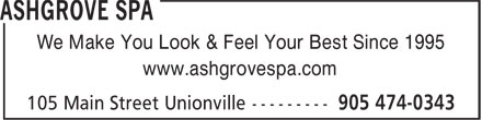 Ads Ashgrove Spa