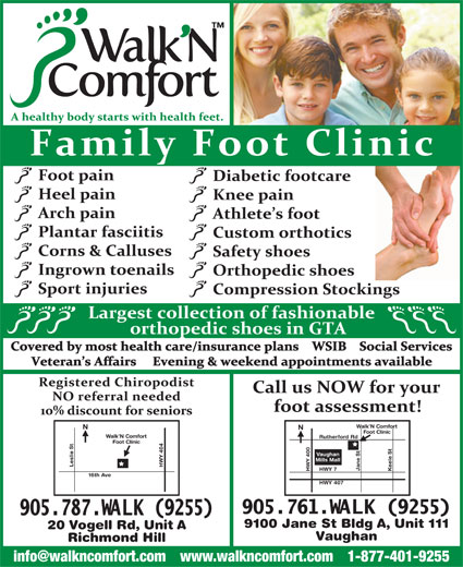 Ads Walk'N Comfort Inc