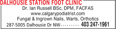 Ads Dalhousie Station Foot Clinic