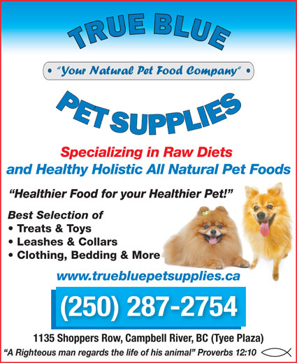 Ads True Blue Pet Supplies