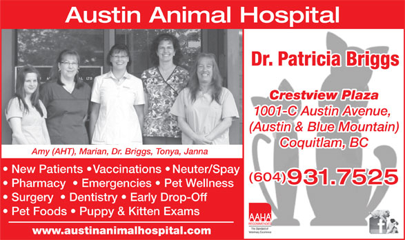 Ads Austin Animal Hospital Ltd