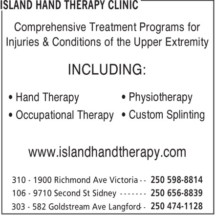 Ads Island Hand Therapy Clinic - Langford Office