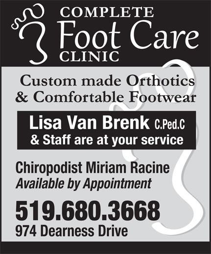 Ads Complete Foot Care Clinic