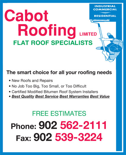 Ads Cabot Roofing Limited