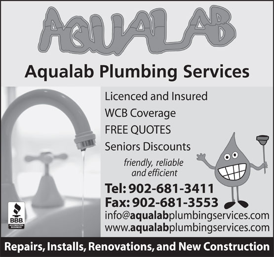 Ads Aqualab Plumbing Services