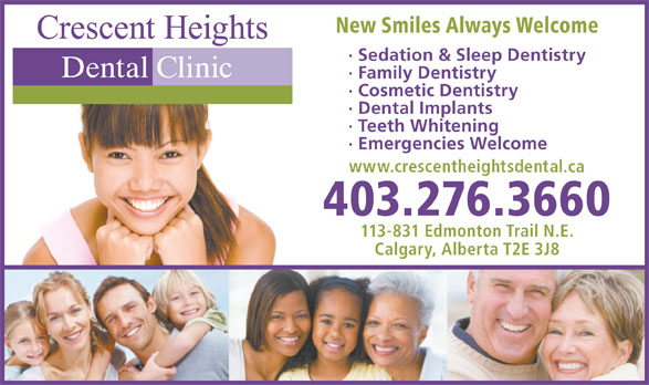 Ads Crescent Heights Dental Clinic