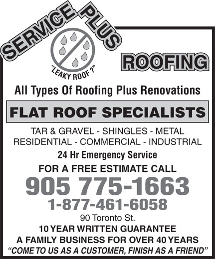Ads Service Plus Roofing