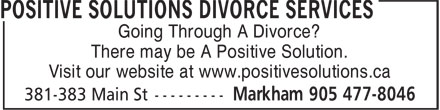 Ads Positive Solutions Divorce Services