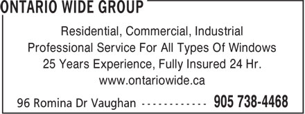 Ads Ontario Wide Group