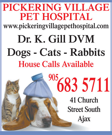 Ads Pickering Vilage Pet Hospital