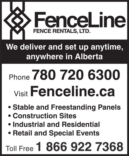 Ads Fence Line Rentals Ltd