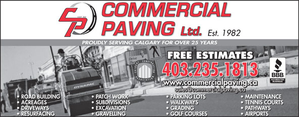Ads Commercial Paving Ltd