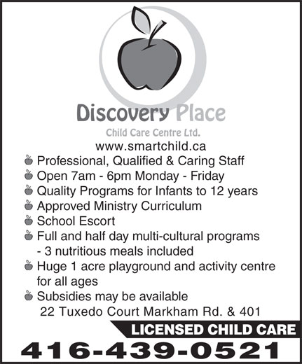 Ads Discovery Place Child Care Centre Ltd