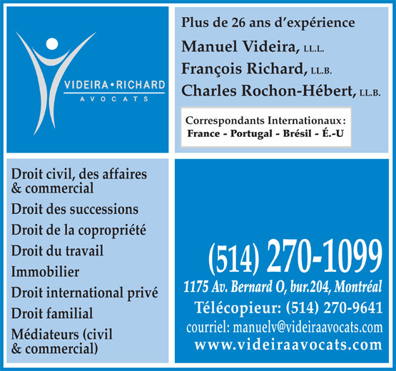 Ads Videira Richard Avocats