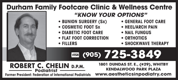 Ads Durham Family Footcare Clinic & Wellness Centre