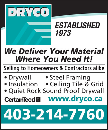 Ads Dryco Building Supplies (Edmonton) Inc