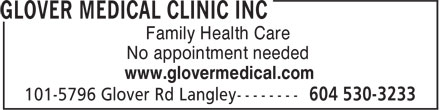 Ads Glover Medical Clinic Inc