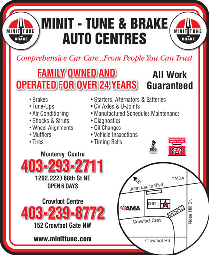 Ads Minit-Tune &amp; Brake Auto Centres