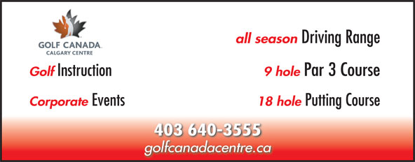 Ads RCGA Golf Centre At Four Seasons