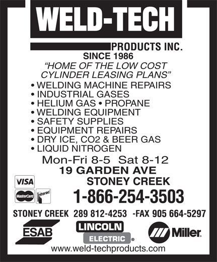 Ads Weld Tech Products Inc