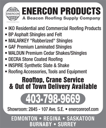 Ads Enercon Products