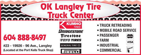 Ads OK Langley Tire Truck Center