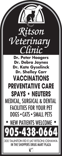 Ads Ritson Veterinary Clinic