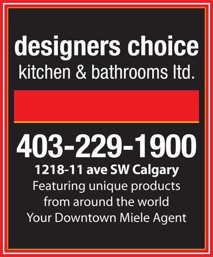 Ads Designer's Choice Kitchens & Bathrooms Ltd