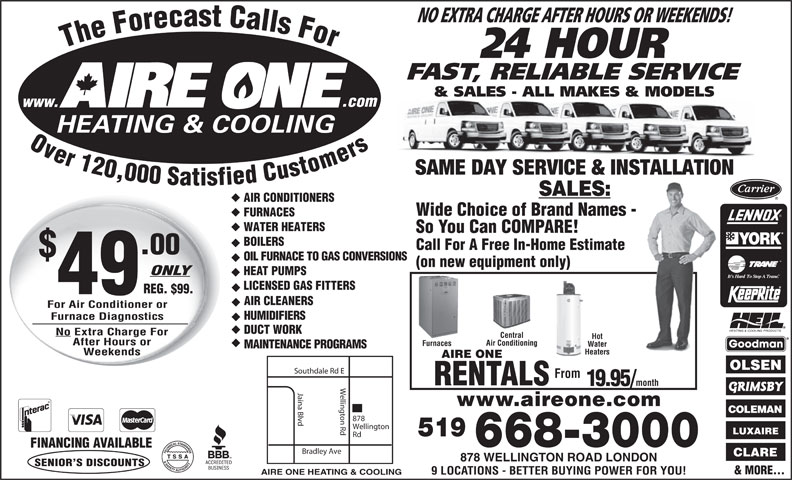 Ads Aire One Heating & Cooling