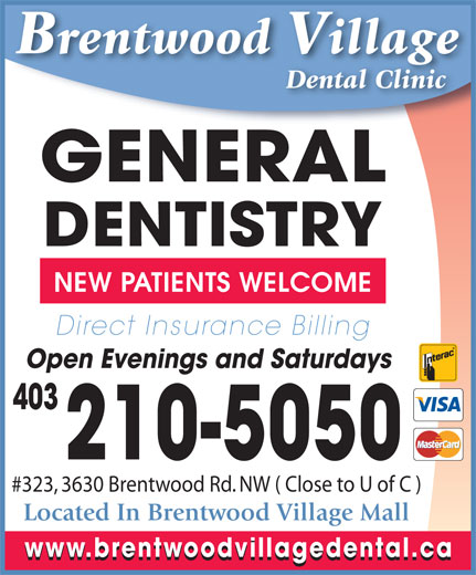 Ads Brentwood Village Dental Clinic