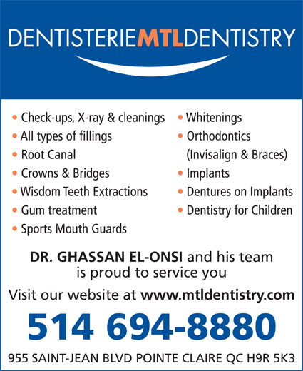 Ads MTL DENTISTRY