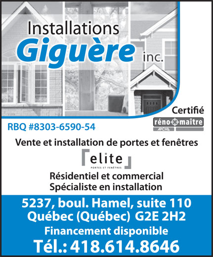 Ads Installations Giguère Inc.