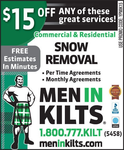 Ads Men In Kilts