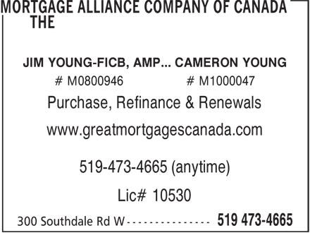Ads Mortgage Alliance Company Of Canada, The