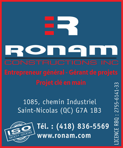 Ads Ronam Constructions Inc