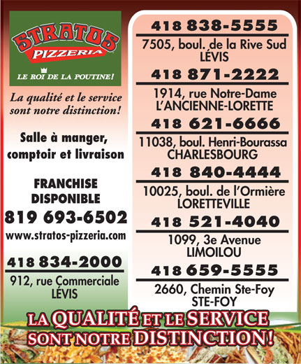 Ads Pizzeria Stratos