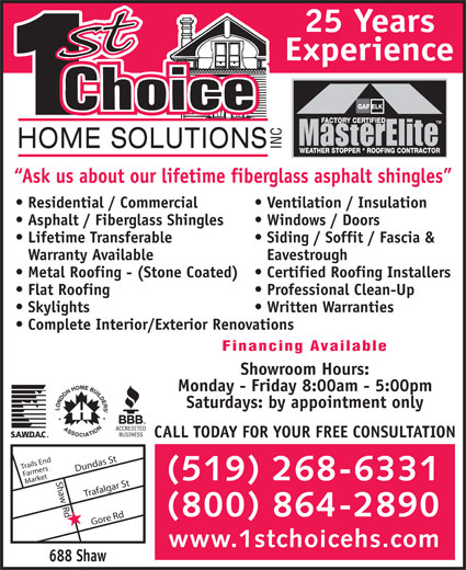 Ads First Choice Home Solutions Inc
