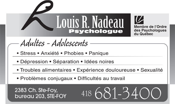 Ads Nadeau Louis R