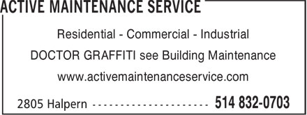 Ads Active Maintenance Service